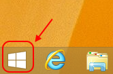Screencap showing the Windows icon